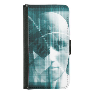 Medical Science Futuristic Technology as a Art Samsung Galaxy S5 Wallet Case