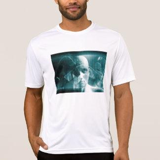 Medical Science Futuristic Technology as a Art T-Shirt