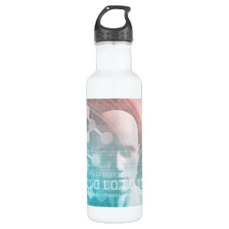 Medical Science of the Future with Molecule 710 Ml Water Bottle