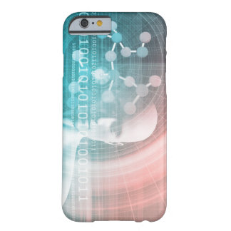 Medical Science of the Future with Molecule Backgr Barely There iPhone 6 Case