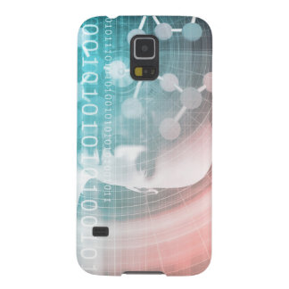 Medical Science of the Future with Molecule Backgr Cases For Galaxy S5