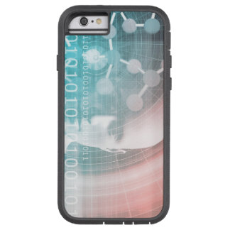 Medical Science of the Future with Molecule Backgr Tough Xtreme iPhone 6 Case