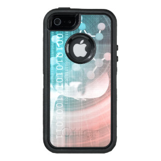 Medical Science of the Future with Molecule OtterBox Defender iPhone Case