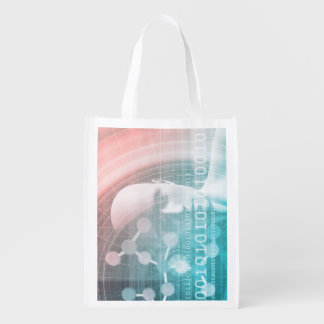 Medical Science of the Future with Molecule Reusable Grocery Bag