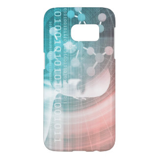 Medical Science of the Future with Molecule Samsung Galaxy S7 Case