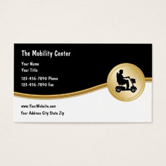 Medical Scooter Mobility Business Cards