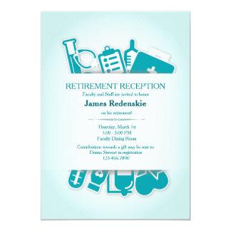 Medical Supplies Retirement Invitation