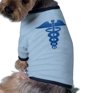 Medical Symbol Caduceus logo Pet T-shirt