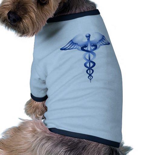 Medical Symbol Caduceus logo Pet Tee