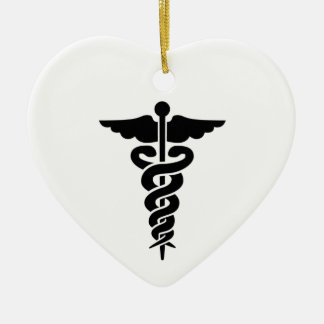 Medical Symbol Ceramic Ornament