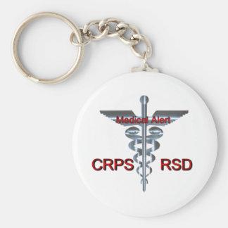 Medical Symbol - CRPS RSD Medical Alert Keychain