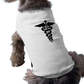 Medical Symbol Dog Tee Shirt