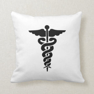 Medical Symbol Throw Pillow