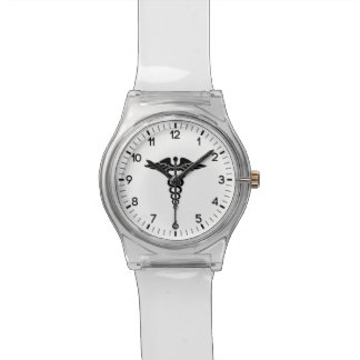 Medical Symbol Wristwatch
