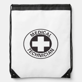 Medical Technician Sign Drawstring Backpack