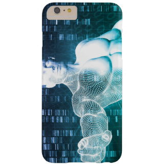 Medical Technology with Scientist Engineer on DNA Barely There iPhone 6 Plus Case