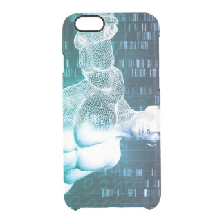 Medical Technology with Scientist Engineer on DNA Clear iPhone 6/6S Case
