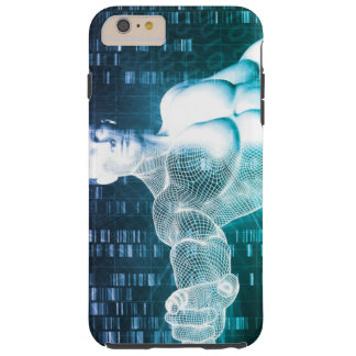 Medical Technology with Scientist Engineer on DNA Tough iPhone 6 Plus Case