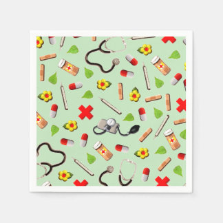 Medical Themed Disposable Napkins