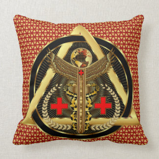 Medical Universal Design Artist Concept VIEW ABOUT Throw Pillow