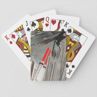 Medical Utensils Playing Cards
