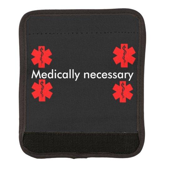 Medically neccisary wrap luggage handle wrap