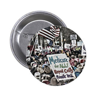 Medicare for All 2 Inch Round Button