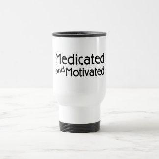 Medicated And Motivated Travel Mug