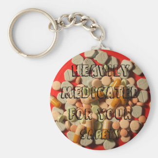 MEDICATED Keychain