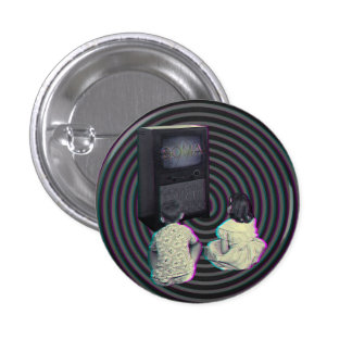 Medicated New World 1 Inch Round Button