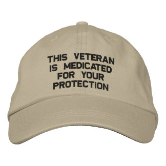 Medicated Vet Embroidered Hats