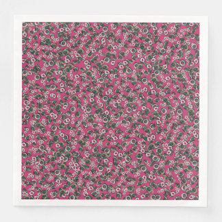 Medici Gardens Colorful Abstract Dinner Napkin