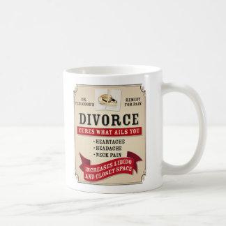 Medicinal Divorce Label Coffee Mug