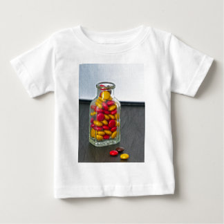 Medicine Bottle of Candy Baby T-Shirt