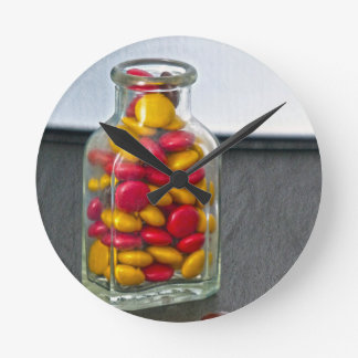 Medicine Bottle of Candy Clocks