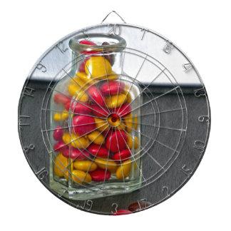 Medicine Bottle of Candy Dartboard