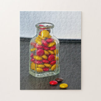 Medicine Bottle of Candy Jigsaw Puzzle