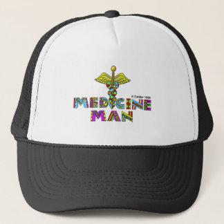 Medicine man trucker hat