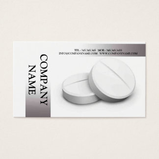 Medicine / Pharmacy / Pharmacist Human Body Business Card