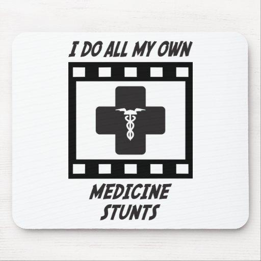 Medicine Stunts Mouse Mat