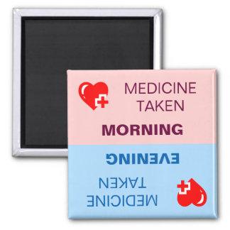 Medicine taken reminder magnet