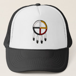 Medicine Wheel Trucker Hat