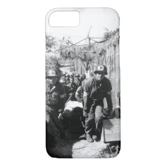 Medics remove a casualty from the_War Image iPhone 7 Case