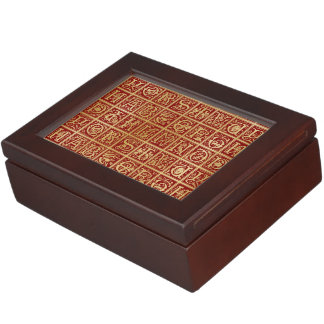 Medieval Alphabet & Monogram - Keepsake Box