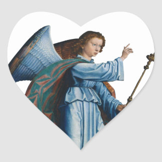 medieval angel Sticker