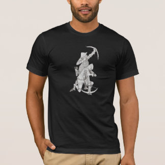 Medieval Archer and Crossbowman - Grey T-Shirt