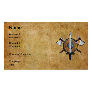 Medieval Arms Business Card