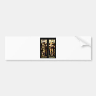 Medieval art bumper sticker