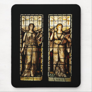 Medieval art mouse pad