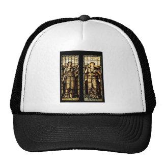 Medieval art trucker hat